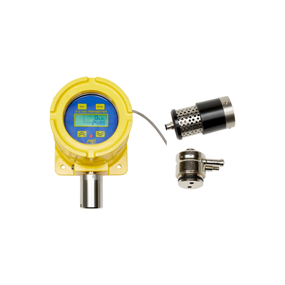 D12 toxic and combustible gas detector